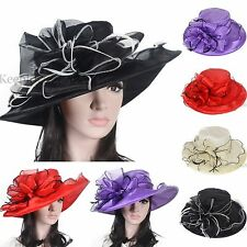 Kentucky Derby Church Hat Cocktail Dress Hat Soft Organza Wedding Hat