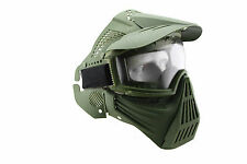 Full Face Guard Mesh Mask Goggles For Outdoor Survival Airsoft Paintball Games