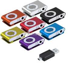 Mini Support 1 - 8GB Micro SD TF Clip Metal USB MP3 Music Media Player+Headphone