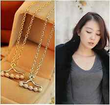 1 Pcs Fashion Faux Pearl Hanger Molding Necklace Party Clavicle Chains Gifts New