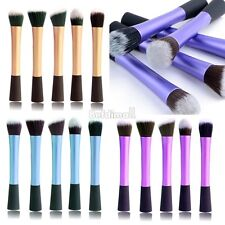 5 Professional Make up Brushes Set Foundation Blusher Face Powder Kabuki Brush
