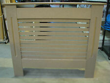 Brand New Plain MDF Slatted Radiator Cover Radiator Cabinet