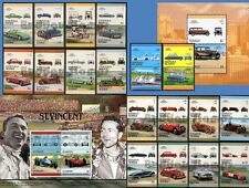 Car Stamp Sets (Mint) Leaders of the World / Auto 100 Stamps / Great Automobiles