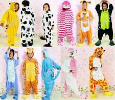 Kid halloween Dress Unisex Pajama Kigurumi Animal Cosplay Costume Sleepwear Hot