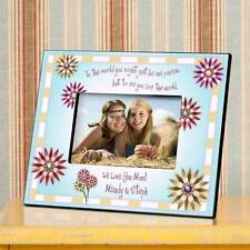 Personalized Mother's Poem Mothers Day Daughter Love Photo Picture Frame - 4x6""