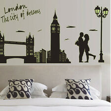 DIY London Removable Vinyl Wall Decal Stickers Art Mural Home Decor Noctilucent