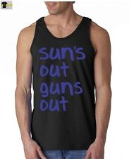 Sun's Out Guns Out GYM TANK TOP  gym fitness training tee workout tank top