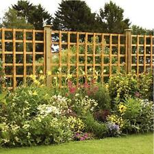 Square Trellis Panel - All Sizes - Pressure Treated Wood Timber Garden Fencing