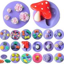 Lot Silicone Fondant Cake Chocolate Candy Decorating Baking Mold Soap Mould