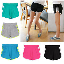 Fashion Women's Girl Sport Solid Casual Mini Pants Shorts Cotton Running Pants
