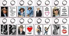 Dwight Yoakam High Quality Acrylic Keychain - Many Designs To Choose From