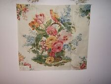 """Lee Jofa """" Bouquet Print""""  floral fabric remnant multiple colorways available"""
