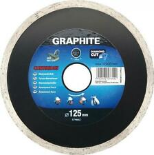 Graphite angle grinder diamond disc blade tile cutter 115, 125, 180, 200 &230 mm