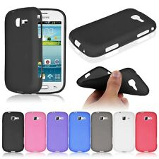 Soft TPU Case Cover Skin For Samsung Galaxy Fresh Lite Trend Duos GT S7390 S7392