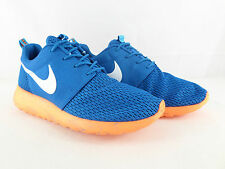NIKE ROSHE RUN M Blue/Orange Men running training shoes 669985 400 UK 6-10