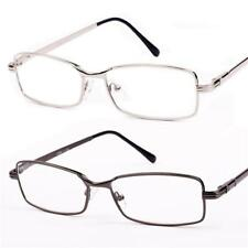 New Mens Metal Reading Glasses +1 +1.25 +1.5 +1.75 +2.25 +2.5 +2.75 +3 +3.5 R73