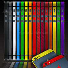 FOR APPLE iPhone 5S 5 4S Bumper Wrap Decal Sticker Side Body Logo Ultra Thin
