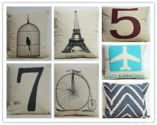 GO CA Fashion Home Decorative Pillow Covers Room Decors Car Throw Pillow Covers