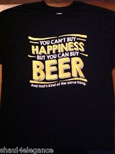 Funny But You Can Buy Beer NEW 100% Cotton NEW Drunk Beer T-Shirt Drinking