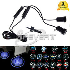 2 x Car Logo CREE Wireless LED Projector Door Welcome Lights Laser For BWM VW