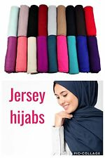 NEW LUXURY JERSEY HIJAB SHAWL WRAP SCARVES LAYERED DRAPES AND FOLDS NEW COLOURS