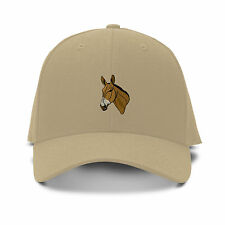 MULE HEAD WESTERN Embroidery Embroidered Adjustable Hat Baseball Cap