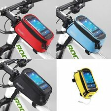 Bike Frame Pouch Bicycle Bag Cycling For Samsung S4/S5 iphone 6 5C/5 Note 2/3