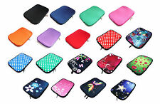 "NEOPRENE SLEEVE ZIP Case Cover Per 5 ""A 16"" POLLICI dimensione Tablet Chromebook Laptop"