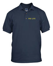 PRO LIFE GOD JESUS Embroidery Embroidered Unisex Adult Golf Polo Shirt