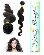 100% Indian Virgin Human Hair Remy Remi Bundle Extension Body Wave Unprocessed