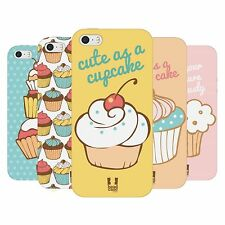 HEAD CASE CUPCAKES TPU GEL BACK CASE COVER FOR APPLE iPHONE 5S