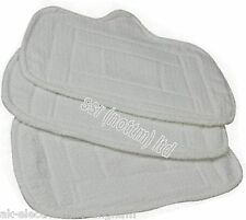 Home-tek REPLACEMENT Velcro Floor Cleaning PAD x 3 PACK for Eco-Elite Steam Mop