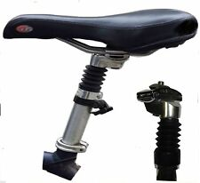 MICRO adjustable suspension alloy seat post - mountain bike cycle Bicycle Saddle