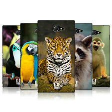 HEAD CASE DESIGNS FAMOUS ANIMALS CASE COVER FOR SONY XPERIA M2