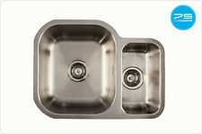 Stainless Steel Undermount Sink 1.5 Bowl Etroduo 589/450U/BBL The 1810 Company