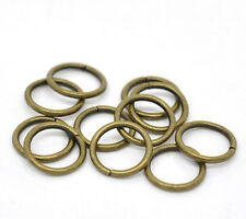 wholesale  Hot Bronze Tone Open Jump Rings 10x1.2mm