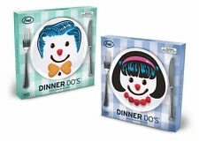 Dinner Do's set of 3 Plates by Fred & Friends