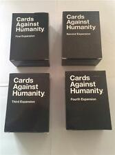 Cards Against Humanity Expansion Sets 1/2/3/4 First Second Third Fourth NEW UK