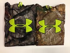 New Under Armour Men's ColdGear Infared Scent Control Camo Hoody 1248010