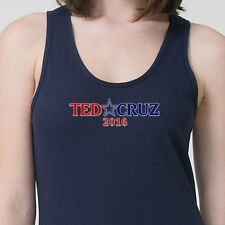 Ted Cruz 2016 Presidential Election Humor Tee Funny Republican Adult Tank Top