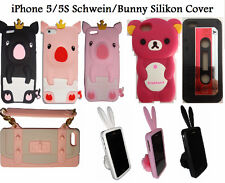 Selection Softcover Silicone Animal Cell Phone Cover Case Prot.Case iPhone 5/5S