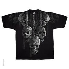 New HANGING OUT SKULLS T Shirt