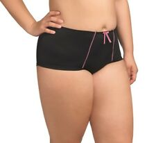 Elomi Bijou Boyshort EL8726 Black NWT Sizes Available M-4XL