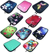 """Neoprene Sleeve Zip Carry Case Cover Pouch 15""""- 16"""" Inch Laptop Notebook PC"""