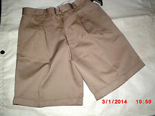 French Toast Girls Khaki  Jr./Plus Size Cotton Blend School Uniform Shorts