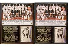 1973 New York Knicks NBA Champions Photo Card Plaque Willis Reed MVP