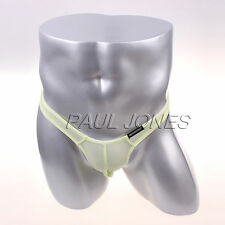 Sexy Mens Briefs T-Back G-String T-Back Thong Bugle Pouch Tanga Underwear M L XL