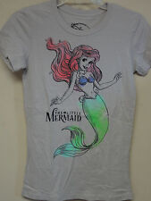 Disney Gray (Ariel the Little Mermaid Colorful Drawing on front) T-shirt