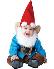 Lil' Garden Gnome Infant Baby Boys Silly Halloween Costume S-L (6 months-2T)
