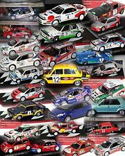 Rally Car Collection, 1:43 Brand New & Sealed Lots to Choose From